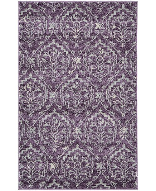 Bridgeport Home Felipe Fel1 Purple Area Rug Collection