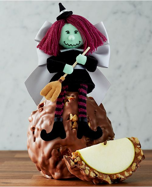 Mrs. Prindables Wacky Witch Jumbo Caramel Apple Milk Chocolate Walnut