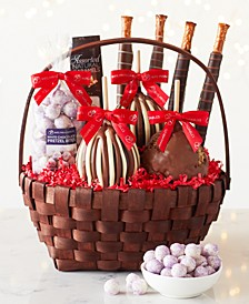 9-Pc. Classic Holiday Caramel Apple Basket