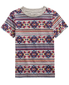 Toddler Boys Fair Isle-Print T-Shirt, Created For Macy's
