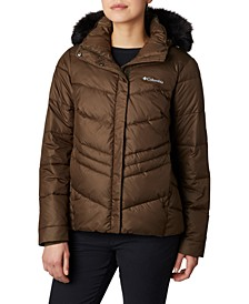 Women's Peak To Park Insulated Faux-Fur-Trim Jacket