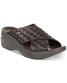 Dusty Wedge Sandals