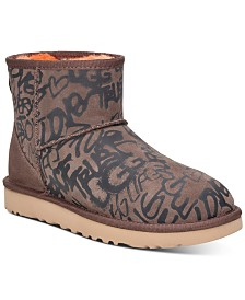 UGG® Women's Classic Street Graffiti Mini Boots