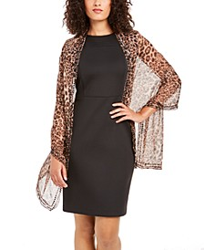 Leopard Beaded Wrap