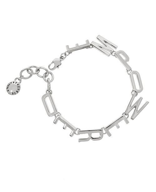 BCBGeneration Silver EMPOWERED Affirmation Link Bracelet