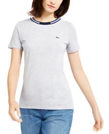 Lacoste Contrast-Trim T-Shirt