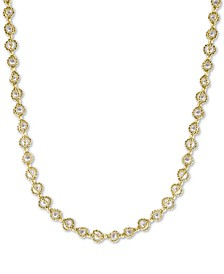 """EFFY® Cultured Freshwater Pearl (3mm) 20"""" Statement Necklace in 18k Gold-Plated Sterling Silver"""