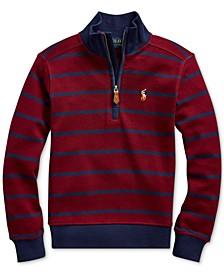 Toddler Boys Cotton Interlock Stripe Pullover