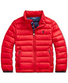 Toddler Boys Packable Quilted Down Jacket