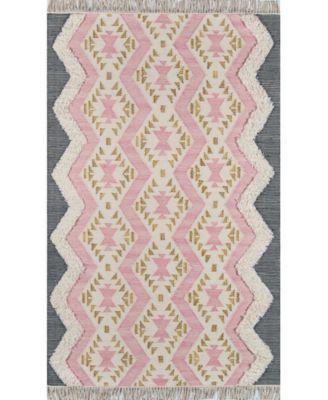 Novogratz Indio Ind-1 Pink 5' x 7' Area Rug