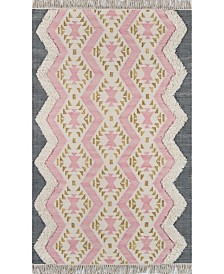 Novogratz Indio Ind-1 Pink Area Rug Collection