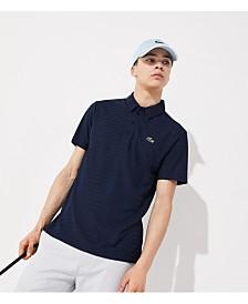 Lacoste Men's Ultra Dry Tech Micro Stripe Polo Shirt