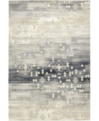 Ismay Ism1 Beige 6' x 6' Square Area Rug