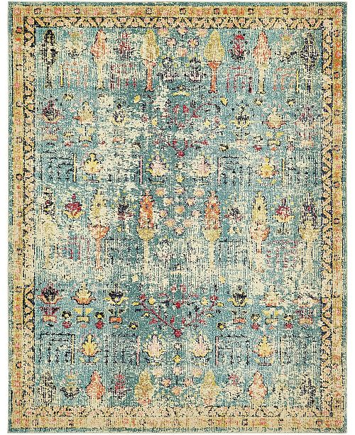 Bridgeport Home Newhedge Nhg6 Blue Area Rug Collection