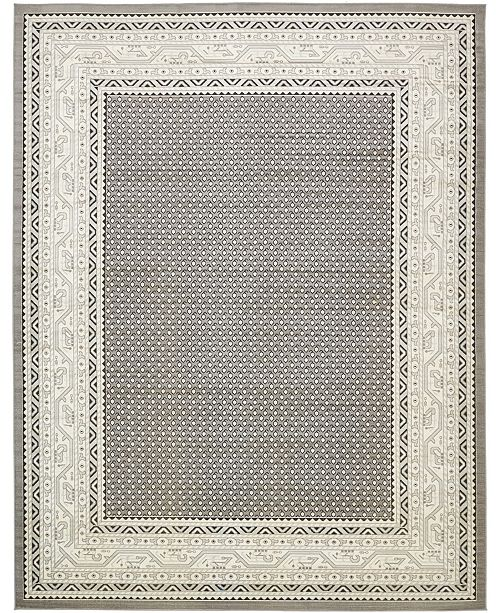 Bridgeport Home Axbridge Axb1 Gray Area Rug Collection