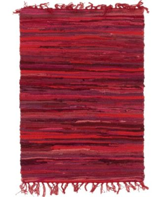 Jari Striped Jar1 Red 9' x 12' Area Rug