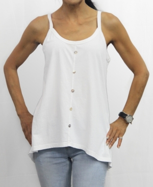 1804 Womens Button Front Camisole