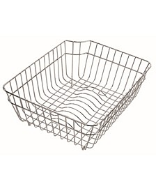 Stainless Steel Kitchen Dish Rack Basket