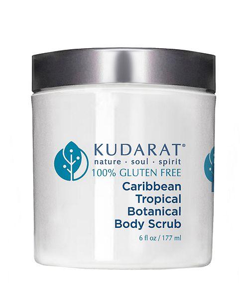 Kudarat Caribbean Tropical Botanical Body Scrub, 6 oz