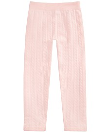 Epic Threads Toddler Girls Cable-Knit Sweater Leggings, Created For Macy's