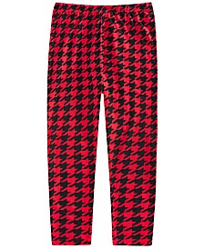 Epic Threads Little Girls Houndstooth Leggings, Created For Macy's