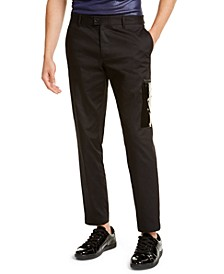 INC ONYX Men's Studio Utility Pants, Created for Macy's