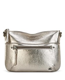 Oleta Leather Crossbody Clutch