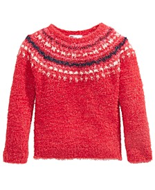 Little Girls Fair Isle Sweater, Created For Macy's