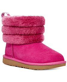 Toddler Girls Fluff Mini Quilted Boots