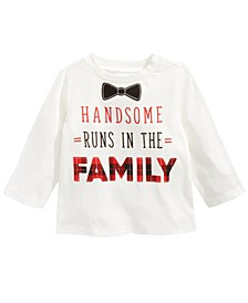 Baby Boys Handsome-Print Cotton T-Shirt, Created For Macy's