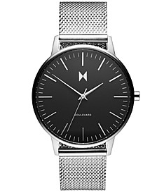 Women's Boulevard Wilshire Stainless Steel Mesh Bracelet Watch 38mm