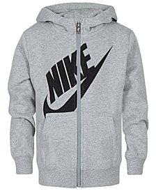 Nike Little Boys Logo Zip-Up Hoodie