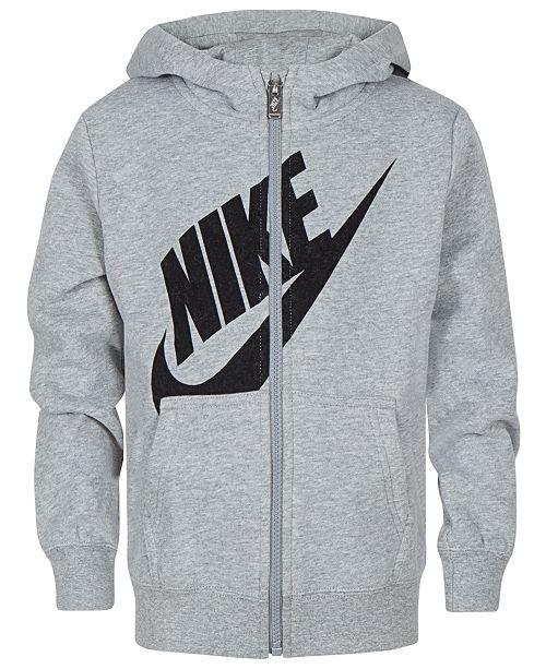 Nike Toddler Boys Logo Zip-Up Hoodie