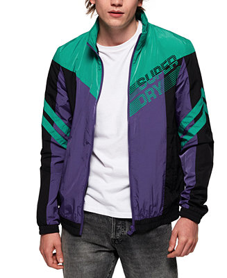 Men's Off Piste Logo Track Jacket by General