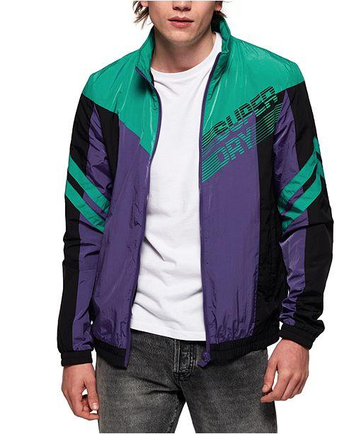 Superdry Men's Off-Piste Logo Track Jacket