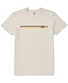 Big Boys Cruise Stripe-Print Cotton T-Shirt