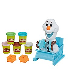 Play-Doh Featuring Disney Frozen Olaf's Sleigh Ride Toy with 5 Non-Toxic Colors