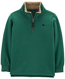 Big & Little Boys Fleece 1/2-Zip Pullover