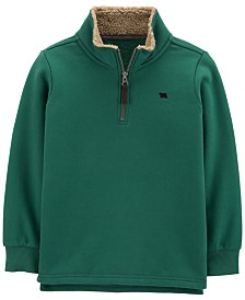 Carter's Big & Little Boys Fleece 1/2-Zip Pullover