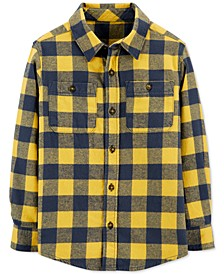 Little & Big Boys Cotton Flannel Plaid Shirt