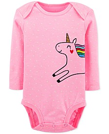 Baby Girls Unicorn Collectible Bodysuit