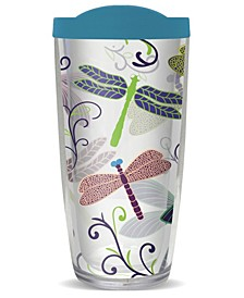 Dragonflies Double Wall Insulated Tumbler, 16 oz