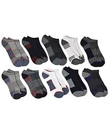 Men's 10-Pack Cushion Ankle Athletic Socks