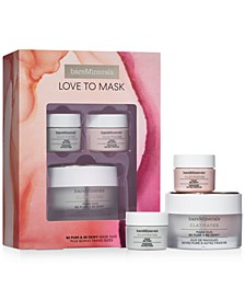 3-Pc. Love To Mask Claymates Be Pure & Be Dewy Mask Set
