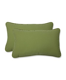 Fortress Colefax Pesto Rectangular Throw Pillow, Set of 2