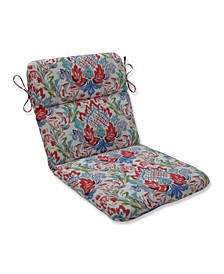 Flying Colors Confetti Rounded Corners Chair Cushion