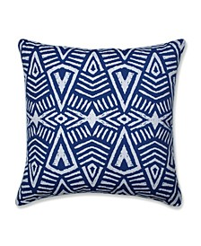 "Tribal Dimensions 25"" x 25"" Outdoor Floor Pillow"