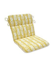 Pineapple Rounded Corners Chair Cushion