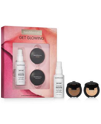3 Pc. Get Glowing Bronze & Glow Mini Makeup Set by General