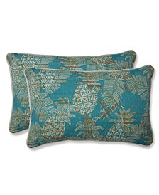 Carate Batik Lagoon Rectangular Throw Pillow, Set of 2